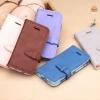 (438-004)เคสมือถือไอโฟน Case iPhone5C เคสนิ่มสไตล์สมุดเปิดข้าง ROCK Peace Series