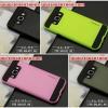 (413-004)เคสมือถือซัมซุง Case Samsung A8 เคสนิ่มพื้นหลังพลาสติกทูโทนสุดสวย