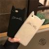 (513-064)เคสมือถือไอโฟน Case iPhone 7 เคสนิ่มแมวหูยาวน่ารักๆ