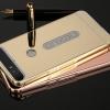(025-116)เคสมือถือ Case Huawei Nexus 6P เคสกรอบโลหะพื้นหลังอะคริลิคแวววับคล้ายกระจกสวยหรู