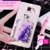 (559-030)เคสมือถือซัมซุง Case Samsung A7 (2016) เคสนิ่มใสเพชรคริสตัลขวดน้ำหอมแฟชั่นสวยๆ
