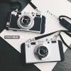 (541-013)เคสมือถือไอโฟน Case iPhone 7 Plus เคสนิ่มชุบแวว 3D สไตล์กล้องถ่ายรูปยอดฮิต