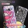 (380-044)เคสมือถือซัมซุง Case Samsung A8 เคสนิ่มลายกราฟฟิคน่ารักๆ