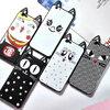 (025-470)เคสมือถือ Case OPPO A59/A59s/F1s เคสนิ่มแมวหูยาวน่ารักๆ