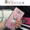 (442-009)เคสมือถือซัมซุง Case Samsung A8 เคสนิ่มใสขอบชุบแววลายโมเสคแก้ว