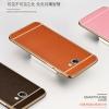 (025-294)เคสมือถือซัมซุง Case Samsung A5 (2016) เคสนิ่มขอบชุบแววพื้นหลังลายหนัง