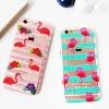 (151-408)เคสมือถือไอโฟน case iphone 6/6S เคสนิ่มใสลายนกกระยาง