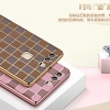 (490-003)เคสมือถือ Case Huawei P9 เคสนิ่มขอบทองพื้นหลังลายคลาสสิคแฟชั่น