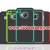 (027-396)เคสมือถือ HTC one M9 เคสกันกระแทกขอบสีสองชิ้นประกบ