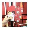 (524-003)เคสมือถือ Case OPPO Mirror 5 lite เคสนิ่มแมวนำโชค Lucky Cat