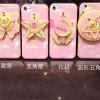 (483-029)เคสมือถือไอโฟน Case iPhone 7 Plus เคสนิ่มเซเลอร์มูนกระจก