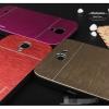 (423-017)เคสมือถือ Samsung Galaxy Note2 เคสพลาสติกพื้นหลังโลหะลายขนแปรง motomo