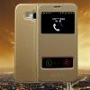 (569-013)เคสมือถือซัมซุง Case Samsung A8 เคสนิ่มฝาพับ PU โชว์สองหน้าจอผิวลื่นกันน้ำ