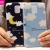 (440-013)เคสมือถือซัมซุงโน๊ต Case Note4 เคสนิ่มพื้นหลังลายสวยๆน่ารักๆ