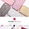 (025-317)เคสมือถือไอโฟน Case iPhone 7 Plus เคสนิ่ม Glitter สไตล์เกาหลี