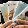 (440-082)เคสมือถือไอโฟน Case iPhone5C เคสนิ่มใสคลุมเครื่องลายน่ารักๆ ยอดฮิต