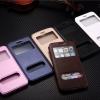 (พร้อมส่ง)เคสมือถือไอโฟน Case iPhone 6Plus/6S Plus เคสฝาพับโชว์ 2 หน้าจอสไตล์นักธุรกิจ
