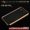 (027-489)เคสมือถือซัมซุง Case Samsung A8 เคสนิ่มขอบสีชุบสวยๆ