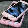 (410-004)เคสมือถือไอโฟน Case iPhone 6Plus/6S Plus เคสพลาสติกประกบหน้า-หลังสไตล์กันกระแทกลายการ์ตูน