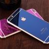 (151-193)ฟิล์มมือถือไอโฟน iPhone 6 Plus/6S Plus ฟิล์มกระจกนิรภัยชุบสี