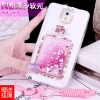 (559-032)เคสมือถือซัมซุงโน๊ต Case Note3 เคสนิ่มใสเพชรคริสตัลขวดน้ำหอมแฟชั่นสวยๆ