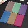 (436-139)เคสมือถือไอโฟน Case iPhone 6/6S เคสพลาสติกกึ่งใสบางเบาแบบคลาสสิค