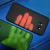 (567-012)เคสมือถือซัมซุง Case Samsung S7 Edge เคสนิ่มเรืองแสงตามรอยนิ้วมือ