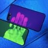 (567-006)เคสมือถือไอโฟน Case iPhone 7 Plus เคสนิ่มเรืองแสงตามรอยนิ้วมือ