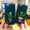 (483-009)เคสมือถือไอโฟน case iphone 6Plus/6S Plus เคสนิ่มแคคตัส 3D