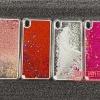 (291-024)เคสมือถือ Case OPPO R9 Plus เคสพลาสติกใส Glitter กากเพชร