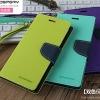 (487-002)เคสมือถือซัมซุง Case Samsung S7 Edge เคสสมุดเปิดข้าง GoosPery ทูโทนน่ารักๆ