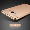 (025-486)เคสมือถือซัมซุง Case Samsung Galaxy J7(2016) เคสพลาสติกขอบทองแฟชั่น