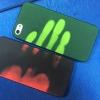 (567-009)เคสมือถือไอโฟน case iphone 5/5s/SE เคสนิ่มเรืองแสงตามรอยนิ้วมือ