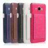 (506-003)เคสมือถือซัมซุง Case Samsung Galaxy J5(2016) เคสพลาสติกพื้นหลัง PU สไตล์หนัง