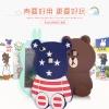 (013-017)เคสมือถือวีโว Vivo X6 เคสนิ่มตัวการ์ตูนกระต่ายและหมี 3D