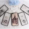 (025-268)เคสมือถือไอโฟน Case iPhone 7 เคสขอบนิ่มพื้นหลังลายผู้หญิงแฟชั่น