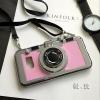 (496-003)เคสมือถือซัมซุง Case Samsung Galaxy S7 เคสนิ่มชุบแวว 3D สไตล์กล้องถ่ายรูปยอดฮิต