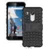 (002-104)เคสมือถือ Case LG Nexus 5X เคสนิ่มพื้นหลังพลาสติกแข็งขอบสีกันกระแทก