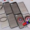 (152-045)เคสมือถือไอโฟน 5 Case iPhone5 เคสโลหะลาย Superman Batman SpiderMan Transformers