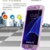 (395-051)เคสมือถือซัมซุง Case Samsung Galaxy S7 เคสนิ่มใสสไตล์ฝาพับกันกระแทก UMGG
