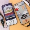 (025-285)เคสมือถือ Case OPPO A59/F1s เคสนิ่มลายการ์ตูนเกาหลีน่ารักๆ