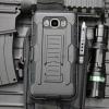(002-133)เคสมือถือซัมซุง Case Samsung Galaxy J7(2016) เคสนิ่ม+พื้นหลังประกบแบบพลาสติก+มีขาตั้ง+ที่เหน็บเอวสไตล์กันกระแทก