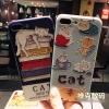 (561-004)เคสมือถือไอโฟน Case iPhone 7 Plus เคสลายแมวน่ารักๆ