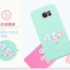 (013-031)เคสมือถือซัมซุง Case Samsung S7 Edge เคสนิ่มลายโบว์น่ารักๆ