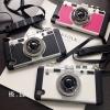 (496-035)เคสมือถือ Case OPPO R7s เคสนิ่มชุบแวว 3D สไตล์กล้องถ่ายรูปยอดฮิต