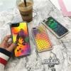 (513-100)เคสมือถือไอโฟน Case iPhone 7 เคพลาสติกใสสไตล์ Glitter ทรายดูดเลเซอร์