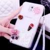 (559-033)เคสมือถือซัมซุงโน๊ต Case Note3 เคสพลาสติกใสทรายดูด Glitter ประดับแหวนโลหะสวยๆ