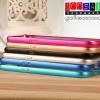 (353-076)เคสมือถือซัมซุง Case Samsung Core Max เคสบัมเปอร์โลหะทูโทน