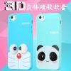 (462-023)เคสมือถือไอโฟน case iphone 5/5s/SE เคสนิ่มลายการ์ตูน โดเรมอน มินเนี่ยน 3D น่ารักๆ