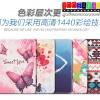 (215-046)เคส iPad mini1/2/3 เคสพลาสติกฝาพับ PU ลายการ์ตูนกราฟฟิคสวยๆ